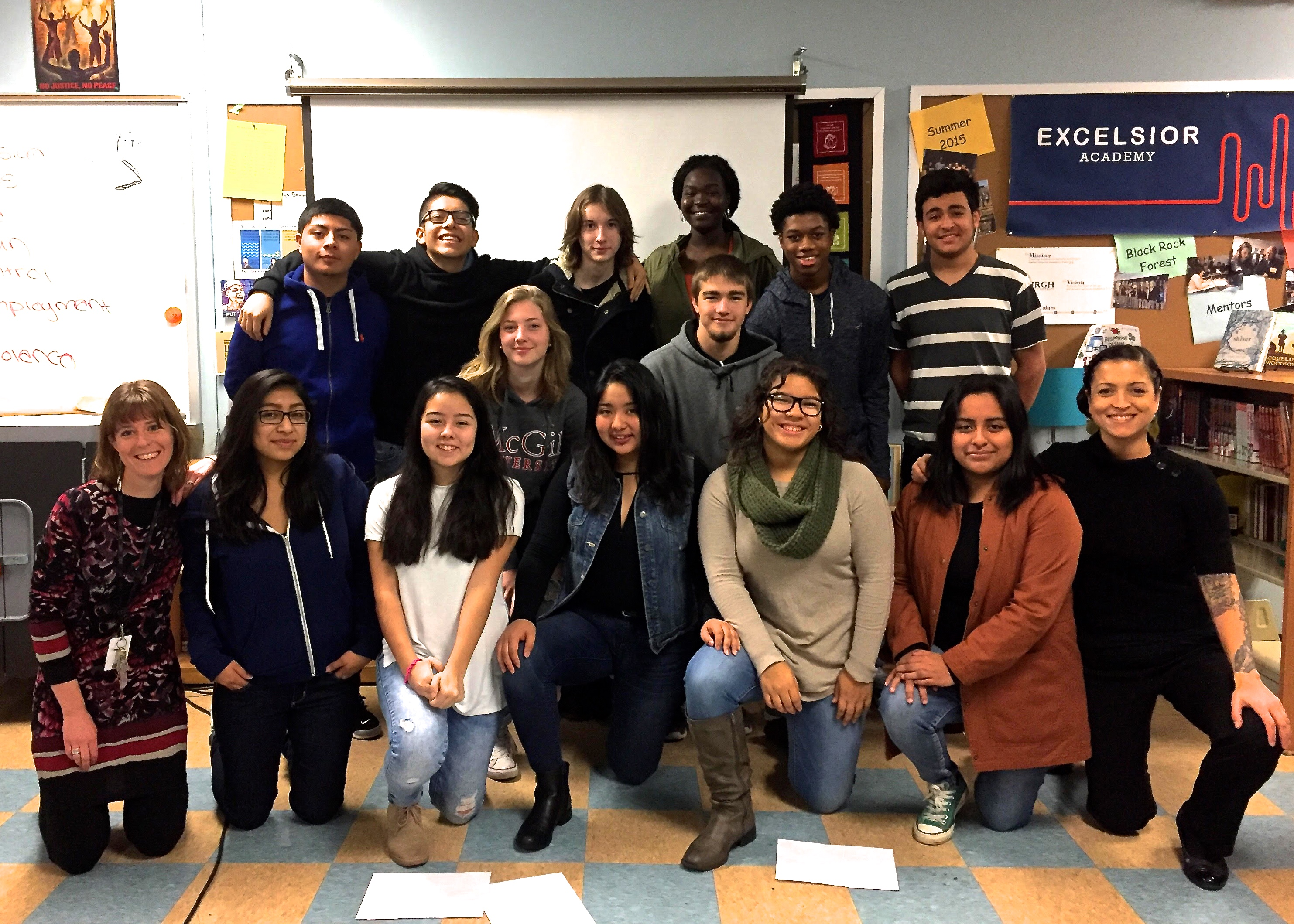 And our 2017 summer school partner is…Excelsior Academy in Newburgh, New York!
